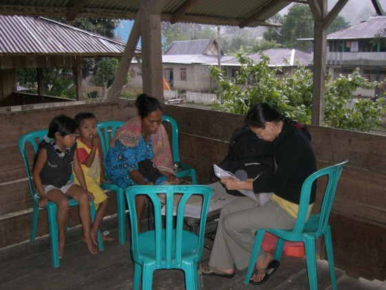 Literacy and Multi Education Survey in 3 villages in Central K-Island*