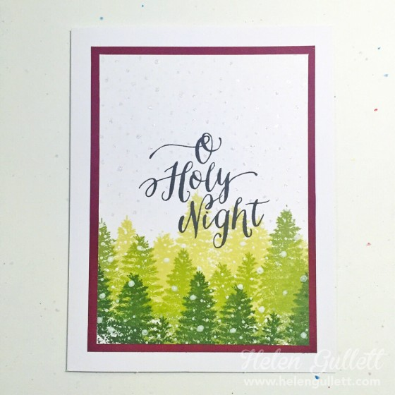 O Holy Night - OCC Holiday Style   by Helen Gullett #ctmh #onlinecard lasses #holidaystyle #christmascard #handmadecard #cardmaking #stamping