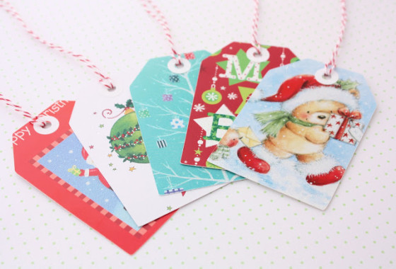 A Spoonful of Sugar Designs: Gift Tags