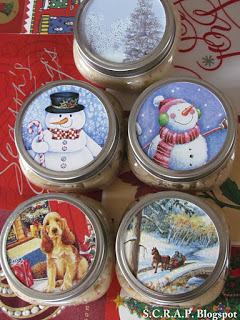 ~ S.C.R.A.P ~ Scraps: Canning Jar Toppers