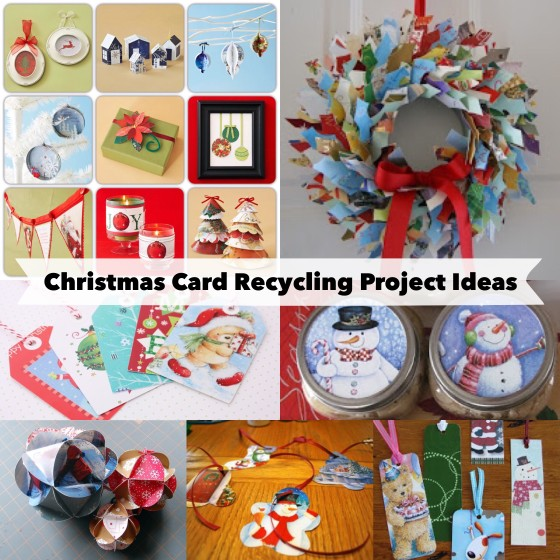 Christmas Card Recycling Project Ideas