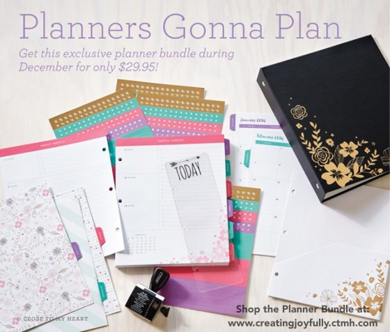 Life Planner | http://creatingjoyfully.ctmh.com/ctmh/promotions/campaigns/1512-planners-gonna-plan.aspx