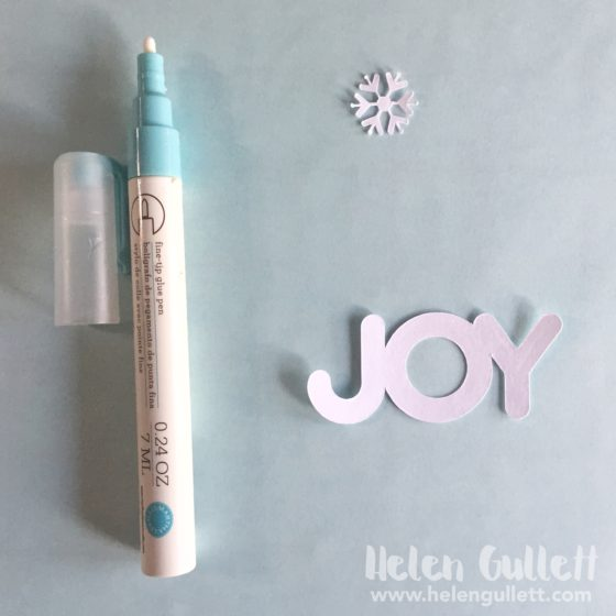 Christmas In July: The Cutting Cafe Ornament Shaker Card
