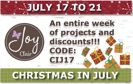 the Christmas collection at http://www.joyclair.com?aff=7; and save 10% with using this code: CIJ17