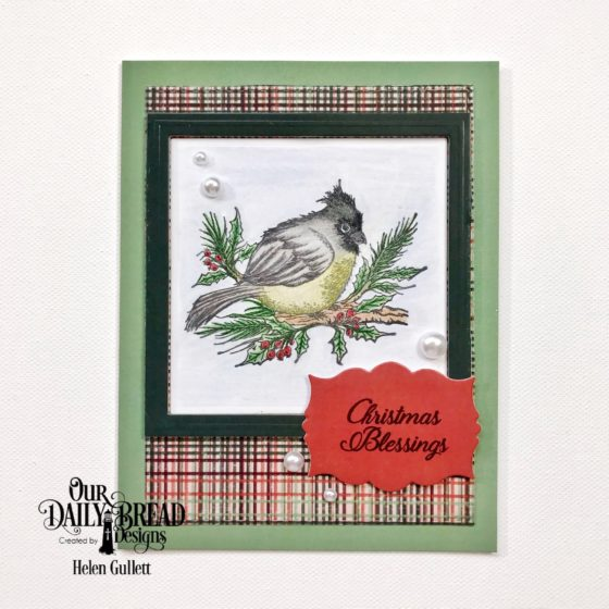 ODBD November New Release Blog Hop Christmas Card