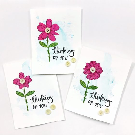 Project Thursday – Thinking Of You Card Set