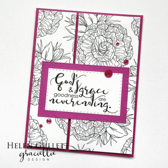 Graciellie Design God's Grace Encouragement Cards