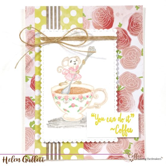 Coffee Loving Cardmakers Cafe Dreamers Collaboration Blog Hop