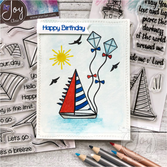 nautical birthday card helen g designs